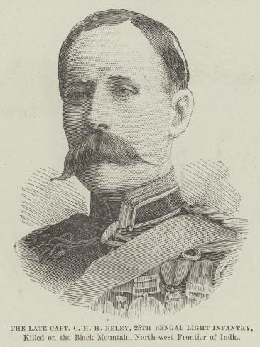 The Late Captain C H H Beley Giclee Print