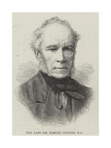 The Late Mr Samuel Cousins Giclee Print