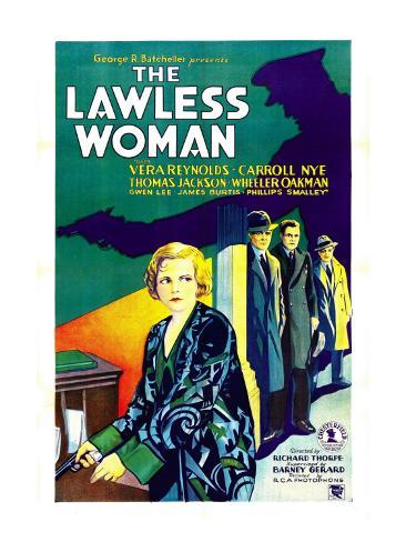 The Lawless Woman, Far Left: Vera Reynolds, 1931 Photo