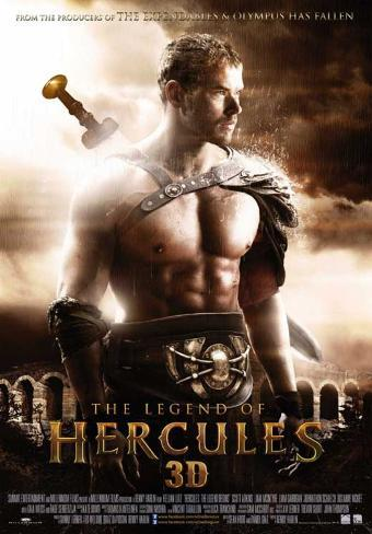 The Legend of Hercules Pôster