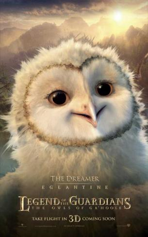 The Legend of the Guardians: The Owls of Ga'Hoole - Eglantine Stampa master