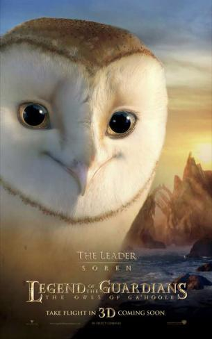 The Legend of the Guardians: The Owls of Ga'Hoole - Soren Stampa master