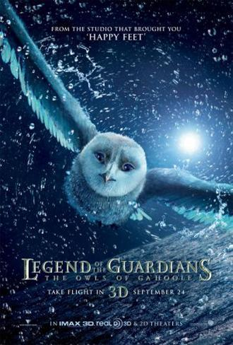 The Legend of the Guardians - The Owls of Ga'hoole Original Poster