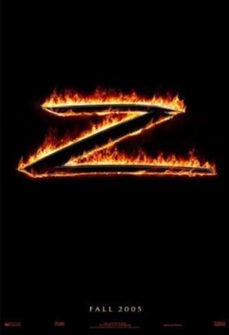 The Legend of Zorro (Antonio Banderas, Catherine Zeta Jones) Movie Poster Double-sided poster