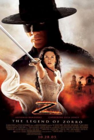 The Legend of Zorro (Antonio Banderas, Catherine Zeta-Jones) Movie Poster Double-sided poster