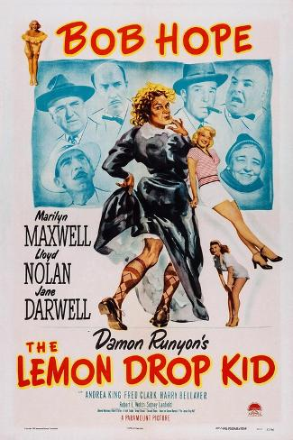 The Lemon Drop Kid, 1951 Stampa artistica