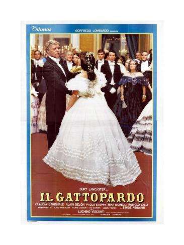 The Leopard, 1963 (Il Gattopardo) Gicléetryck