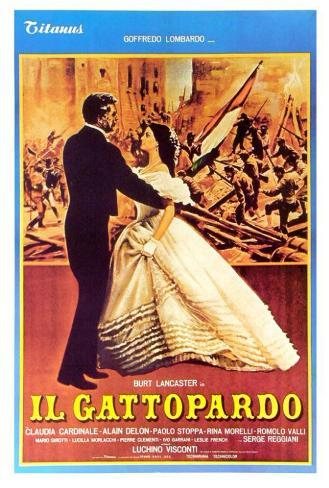 The Leopard - Italian Style Poster