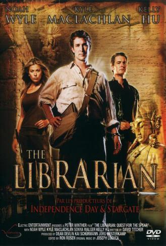 The Librarian: Quest for the Spear (TV) - French Style Poster