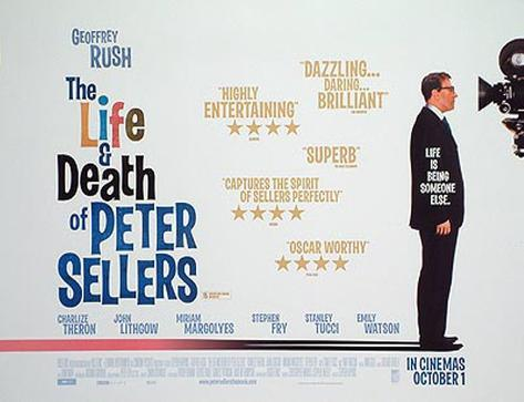 The Life And Death Of Peter Sellers Original Poster