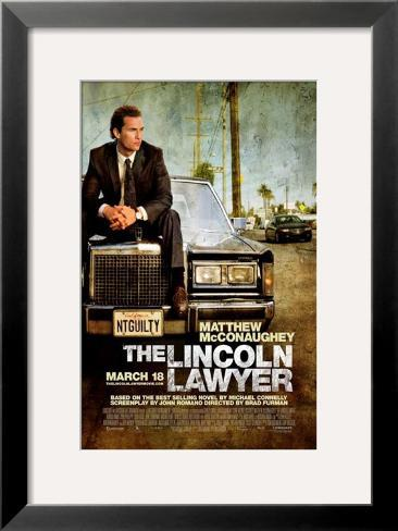 The Lincoln Lawyer Pôster emoldurado