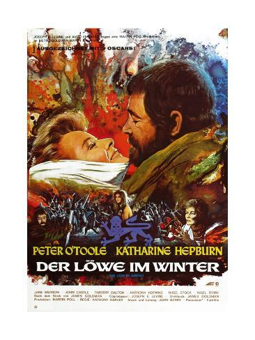 The Lion in Winter, (aka Der Lowe Im Winter), 1968 Giclee Print
