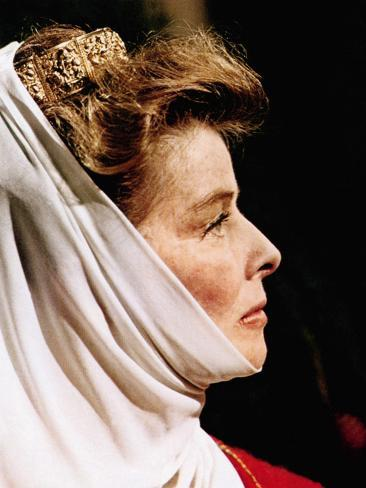 The Lion In Winter, Katharine Hepburn As Eleanor Of Aquitaine, 1968 Fotografia