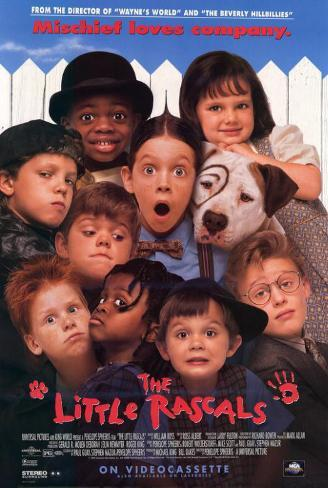 The Little Rascals Masterprint