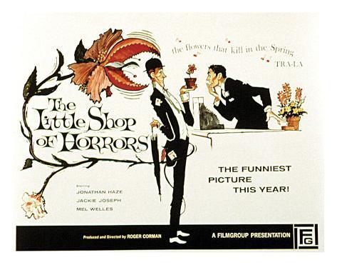 The Little Shop Of Horrors - 1960 II Impressão giclée