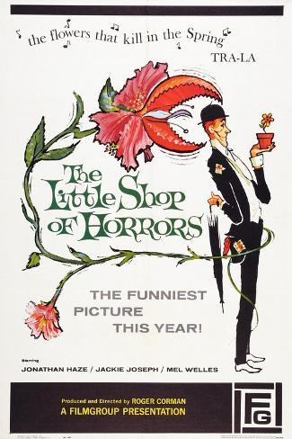 The Little Shop of Horrors, 1960 Art Print