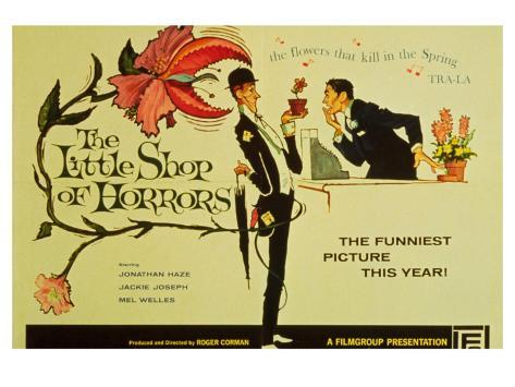 The Little Shop of Horrors, 1960 Art Print