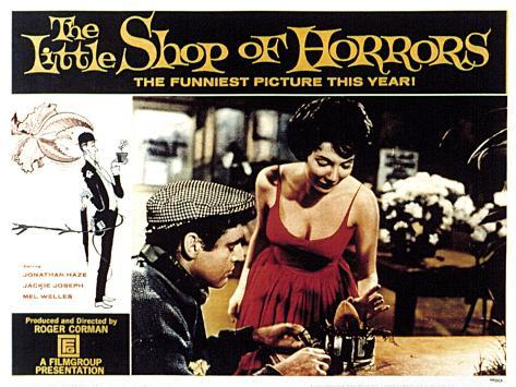The Little Shop of Horrors, Jonathan Haze, Jackie Joseph, 1960 Photo