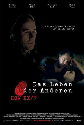 The Lives of Others - German Style Poster
