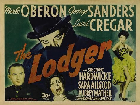 The Lodger, 1944 Art Print