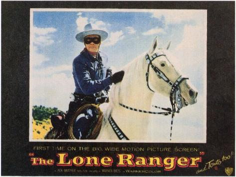 The Lone Ranger, 1956 Art Print