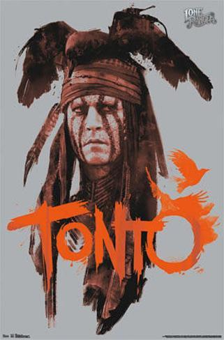 The Lone Ranger - Tonto Pôster