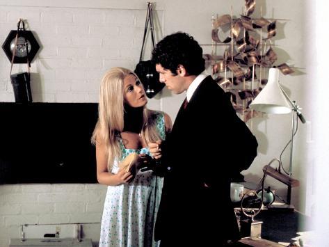 The Long Goodbye, Nina Van Pallandt, Elliott Gould, 1973 Photo