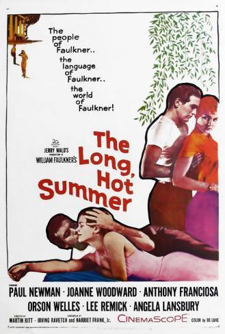 The Long Hot Summer Poster