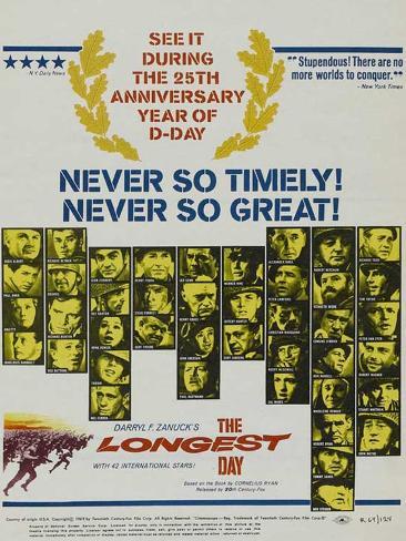 The Longest Day, 1962 Art Print