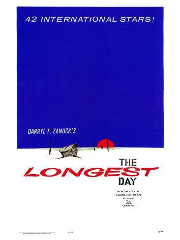 The Longest Day, 1962 Art Print