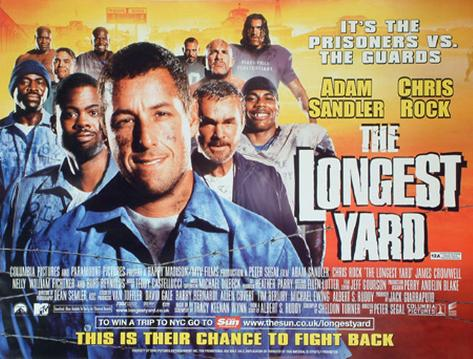 The Longest Yard (Advance) Póster