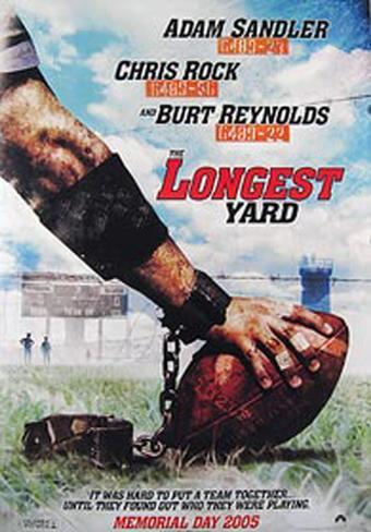 The Longest Yard Pôster original