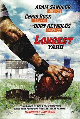 The Longest Yard Double-sided poster
