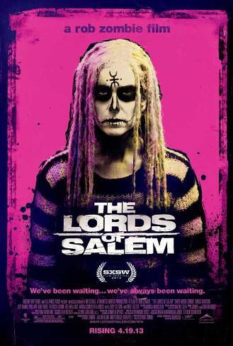 The Lords of Salem (Rob Zombie) Movie Poster Poster