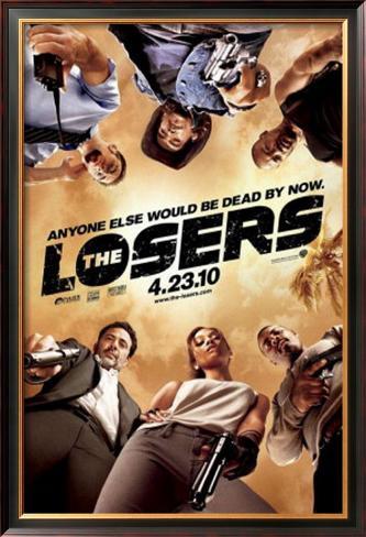 The Losers Pôster emoldurado