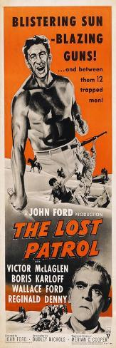 The Lost Patrol, 1934 Konstprint