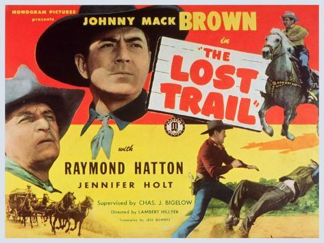 The Lost Trail, 1945 Art Print