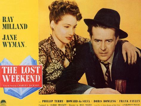 The Lost Weekend, 1945 Art Print