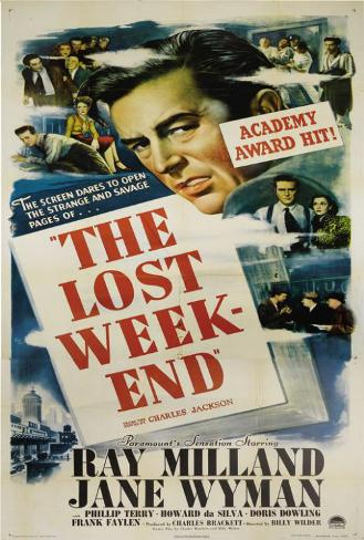 The Lost Weekend Poster