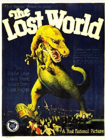 THE LOST WORLD, 1925. Konstprint