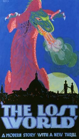 The Lost World - Jurassic Park Masterprint