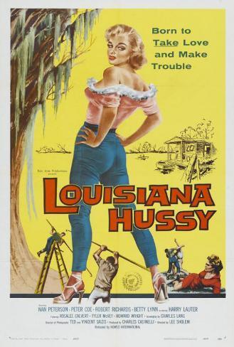 The Louisiana Hussy Poster