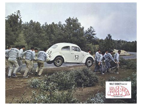 The Love Bug, 1969 Art Print
