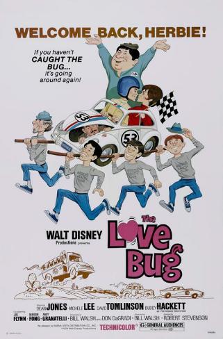 The Love Bug Impressão original