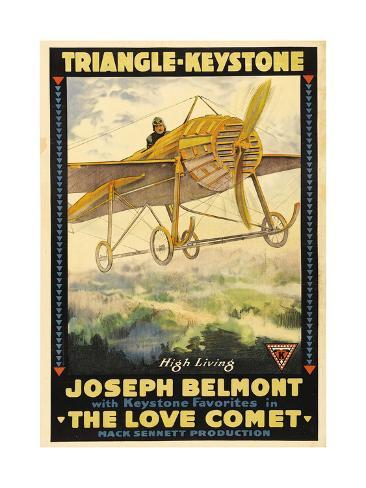 THE LOVE COMET, Joseph Belmont, 1916. アートプリント