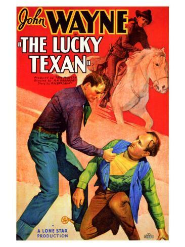 The Lucky Texan, 1934 Art Print
