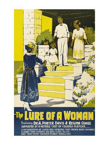 The Lure of a Women Art Print
