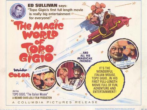 The Magic World of Topo Gigio, 1965 Art Print