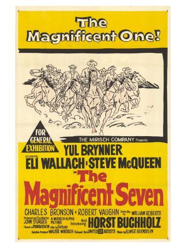 The Magnificent Seven, 1960 Art Print