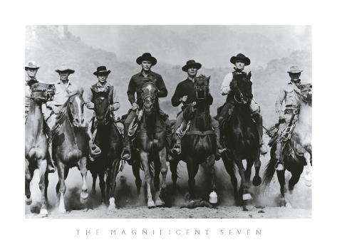 The Magnificent Seven Framed Art Print